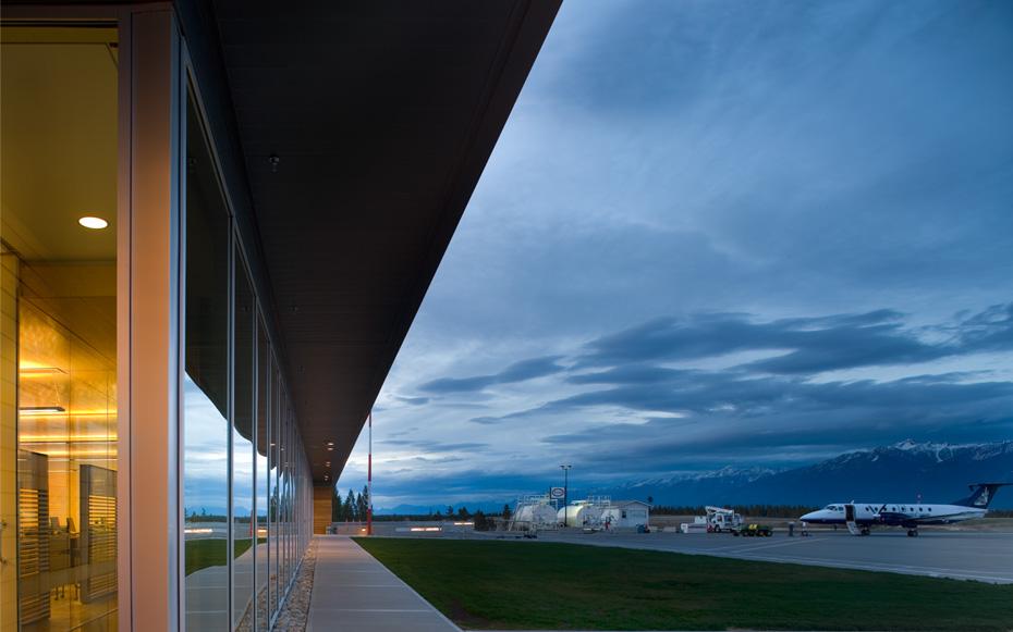 office of mcfarlane biggar architects + designers, Cranbrook, British Columbia, Canada, Canadian Rockies International Airport