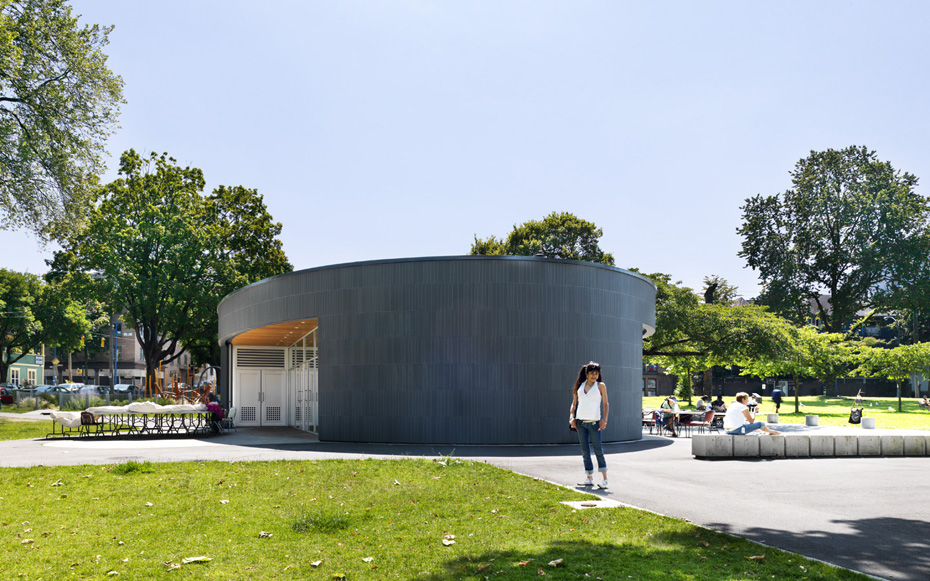 office of mcfarlane biggar architects + designers, Vancouver, British Columbia, Canada, Oppenheimer Park Community Activity House