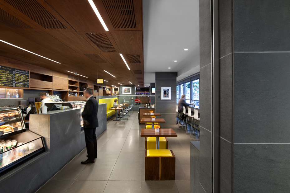 office of mcfarlane biggar architects + designers, Vancouver, British Columbia, Canada, Giovane Café + Bakery + Deli