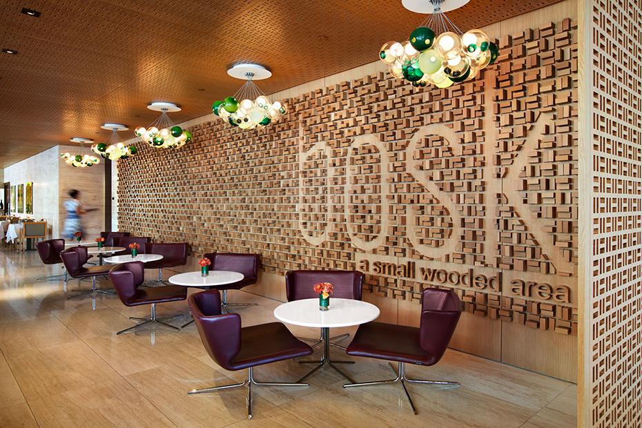 office of mcfarlane biggar architects + designers, Toronto, Ontario, Canada, bosk Restaurant + Shangri-La Hotel Lobby