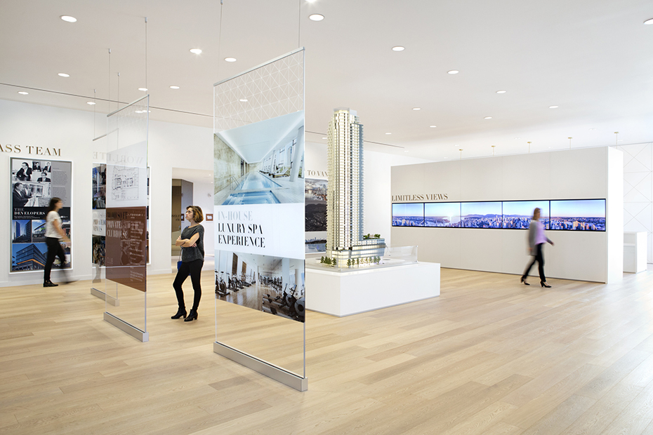 office of mcfarlane biggar architects + designers, Vancouver, Burrard Place - Presentation Centre