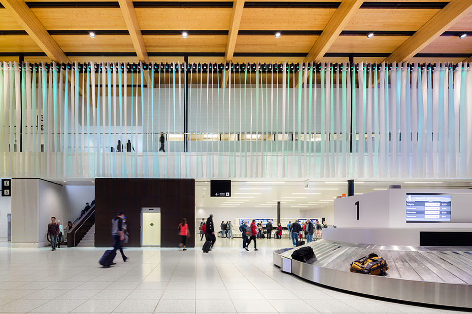 office of mcfarlane biggar architects + designers, Fort McMurray, Alberta, Canada, Fort McMurray International Airport