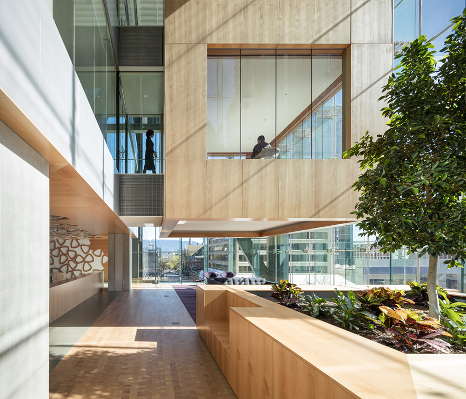 office of mcfarlane biggar architects + designers, Vancouver, British Columbia, Canada, Telus Garden
