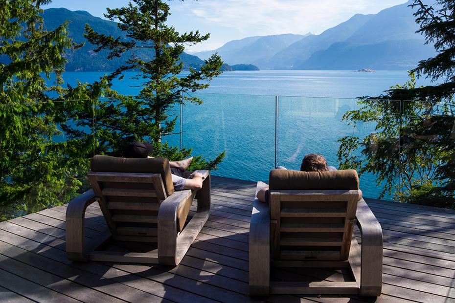 office of mcfarlane biggar architects + designers, Gambier Island, British Columbia, Canada, Gambier House
