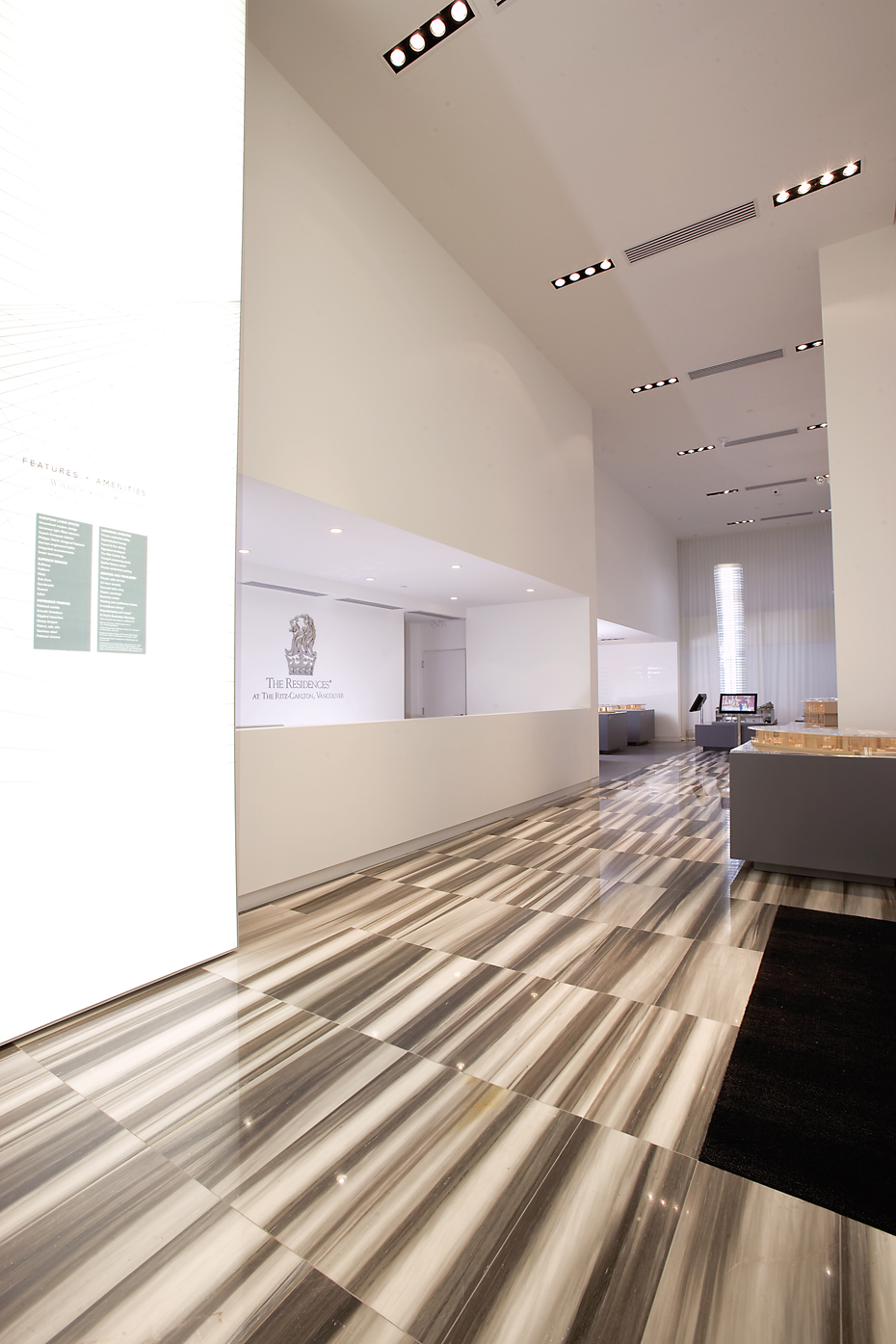 office of mcfarlane biggar architects + designers, Vancouver, British Columbia, Canada, Ritz-Carlton Residences + Presentation Centre