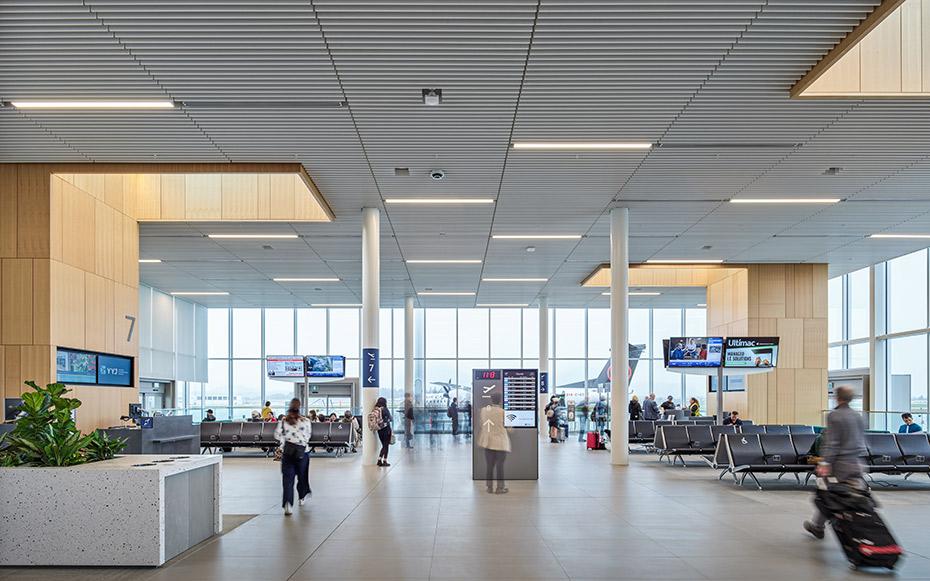 office of mcfarlane biggar architects + designers, Victoria, British Columbia, Canada, Victoria Airport Holdroom Expansion
