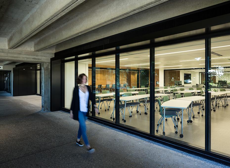 office of mcfarlane biggar architects + designers, Burnaby, BC, SFU Department of Mathematics Renovations