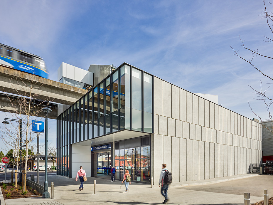 office of mcfarlane biggar architects + designers, Surrey, British Columbia, Canada, Surrey Central SkyTrain Station Upgrades