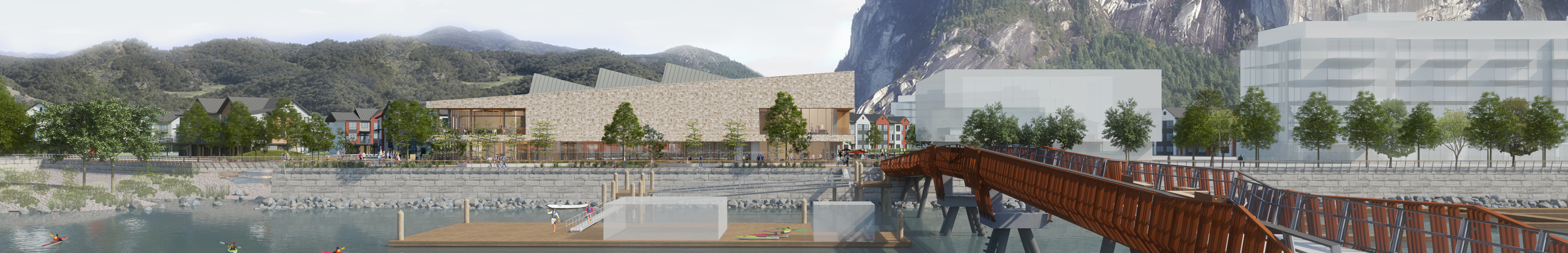 office of mcfarlane biggar architects + designers, Squamish, Sea and Sky Community + Fitness Centre