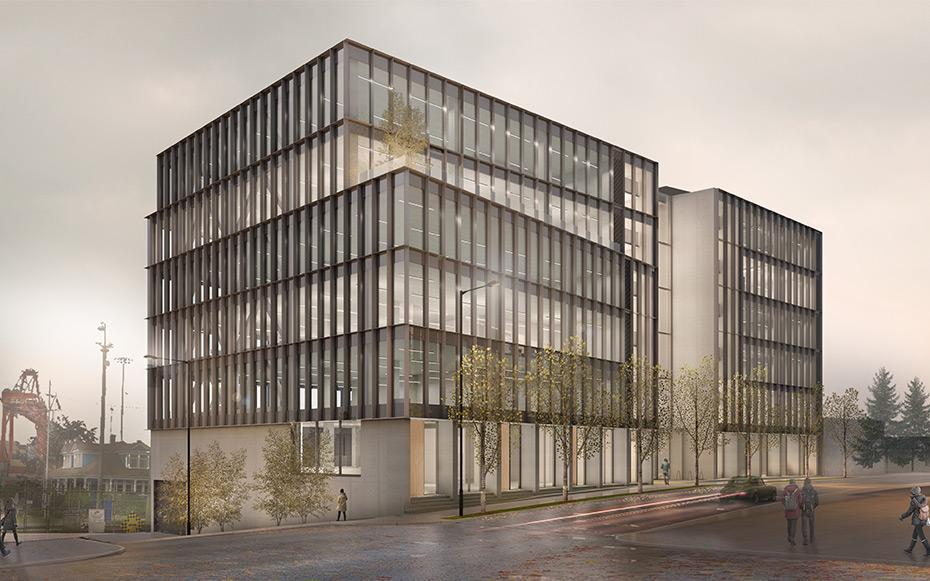 office of mcfarlane biggar architects + designers, Vancouver, British Columbia, Canada, 411 Railway Street