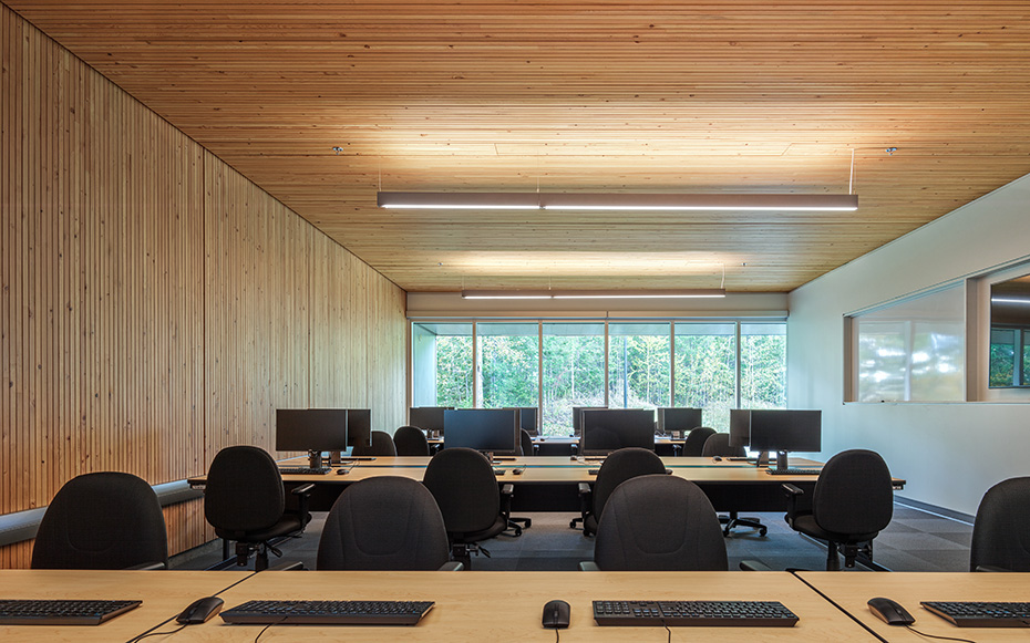 office of mcfarlane biggar architects + designers, Quesnel, British Columbia, Canada, College of New Caledonia Power Engineering Expansion
