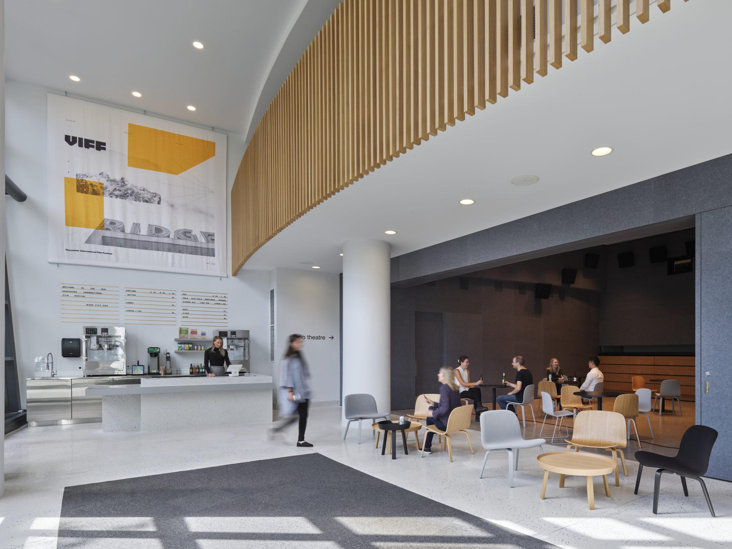 office of mcfarlane biggar architects + designers, Vancouver, BC, Vancouver International Film Centre